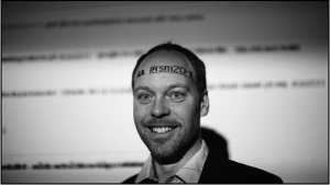 Sven Rentzhog, Avdelningschef, Nya medier, Nordiska museet. Foto: Ulf Bodin, CC-BY-NC-SA.