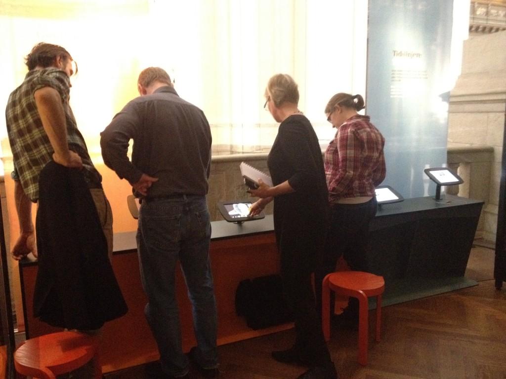 Flera aktörer inom museet har varit inblandade i produktionerna