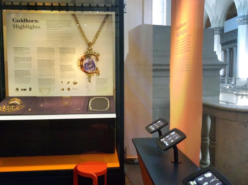 Digitala produktioner i utställningen Smycken - Guldkorn