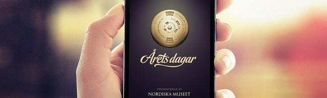 Årets dagar – ny app från Nordiska museet om högtidsdagar