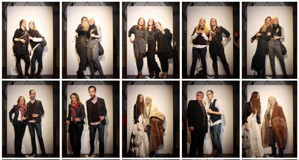 Besökarbilder i utställningen Trend 2010.